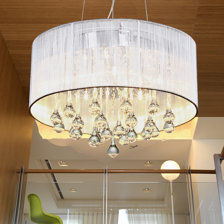 Modern crystal pendant light luxury living room pendant light pendant light fashion brief romantic<br><br>Aliexpress