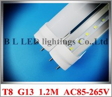 LED bulb tubes G13 T8 light lamp LED fluorescent tube bulb LED T8 tube 1200mm 1.2m 4FT 20W AC85-265V SMD2835 96pcs CE