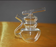 021220  Straight type cigarette is special filtered water pipe smoking glass smooth health tool for water pipes
