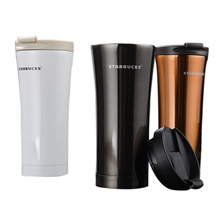 2017The New 500ml Starbucks Winds Vacuum New Stainless Steel Coffee Cups Men & Women's Hand Portable Cups Luxury Thermos Bottle