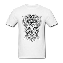 Perfect man Steampunk Bird T Shirts Promotion T Mechanical Times Slogan Art t shirts O-Neck toilette For Gentleman