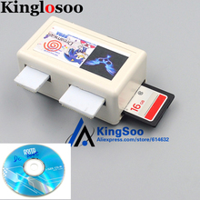 For Sega Dreamcast DC Game Console SD Card Adapter Converter Reader VGA AV Output with 16G Card Games Boot CD(China)