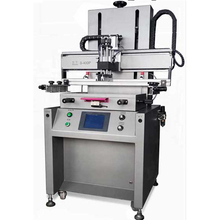 Automatic screen printing machine for leather/glass/wood/ceramic