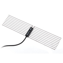 Good Sale  Auto Car DVB-T Digital TV Antenna Aerial Replacement Black PVC Portable
