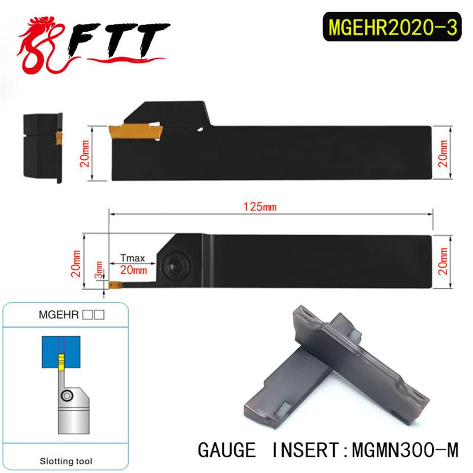 MGEHR2020-3 Abstechhalter Klemmhalter Drehmeißel 10x MGMN300-M