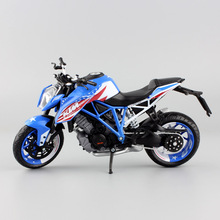 1:12 scale kid's mini KTM 1290 Superduke R touring cruiser Motorcycle diecast sport Bicycles collection car model toys for adult