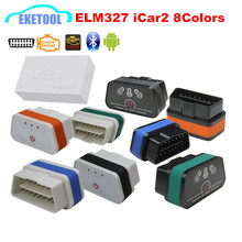 New ELM327 Bluetooth Professional OBD2 Code Reader Vgate iCar2  Bluetooth For Android Torque ELM 327 Supports All OBD2 Protocols