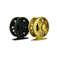 62/68mm sizes 2+1 Ball Bearings Baitcasting Reel winter fishing plastic ice fishing reel fly fishing reels Rotate the scrolls(China)