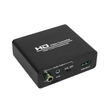 2017 New HDMI To DVI Converter HDCP with coaxial&stereo audio splitter for Ps/Xbox360,/Blue-ray Dvd,/HD Set-top Boxes