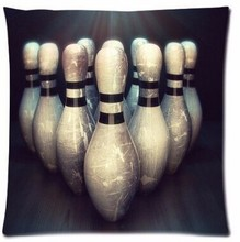 Free Shipping New Arrival Customized Love Shineme Bowling Balls Sports Throw Pillowcase Square 18x18 Inch Pillow Sham