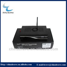 Chinese Manufacture supply satellite receiver  with A8p sim card built-in WIFI HD receiver