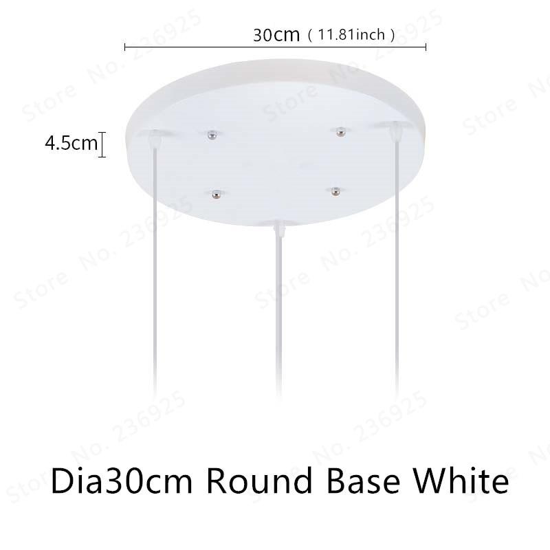 SKU_Dia30 Round Base White