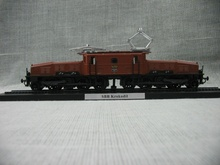 1:87 HO Switzerland SBB Krokodil Big Crocodile Electric Locomotive Model Train