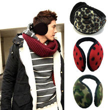 Fleece Earmuff Winter Ear Muff Wrap Band Warmer Grip Earlap Gift Men Hot Sale