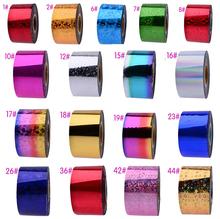 Bling Nail Foils Sticker UV Gel Polish Nail Art Transfer Foil Stickers Decal Beauty Craft Full Cover DIY Nail Decorations Tools