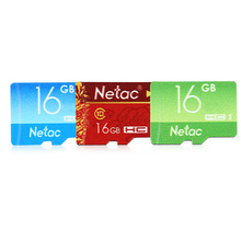 Original Netac P500 Original Card 16GB TF / SD Smart Card UHS - I Compatible with Cell Phone Camera Vehicle Mobile Devices