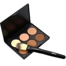 Pro Makeup Compact Face Powder Contour Make Up Studio Fix Bronzer Shading Mineral Pressed Powder Palette(China)