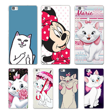 Mickey Minnie finger cat soft TPU cover for huawei P8 P9 Lite NOVA MATE 8 9 honor 8 case for huawei p8 lite 2017 phone capa