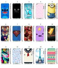 Mobile Phone Case Retail 1pc Tie Adventure time Hybrid Protective White Hard Case Cover For ipod touch 4 4th Free Shipping