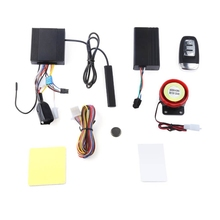 Free Shipping NTG02P PKE Keyless Entry Two Way LCD Motorcycle Alarm System Auto Lock Unlock Remote Central Kit(China)