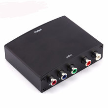 1080P HD Component RGB YPbPr To HDMI Converter Video Audio Adapter YPbPr/RGB + R/L Audio To HDMI AV Adapter Converter