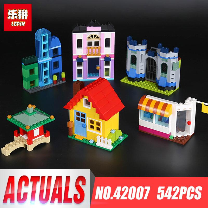 In stock Lepin 42007 542Pcs Creative Series The 10703 Creative Builder Box Set Building Blocks Bricks Funny Toys Kid Gift Model<br>