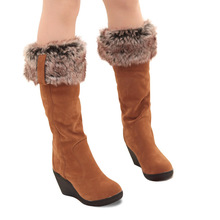 High Quality Women Snow Boots Winter Boots Ankle Casual Brand Winter Shoes Womens Boots Plush Warm Fur Shoes size 34 - 43