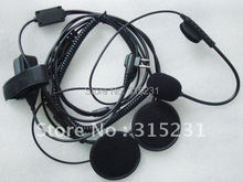 Radio Helmet Headset Professional Motorcycle Earpiece For Motorola CP200 GP350 GP2000 GP3188 GP3688 XV2100 XV2600 XU2100 CLS1410(China)