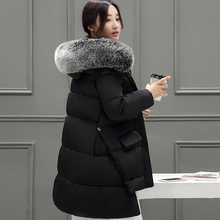Women Winter Jacket  and Coat 2016 New Fashion Womens Winter Down Cotton Jackets Parka Thick Warm Female Coat Plus Size L009