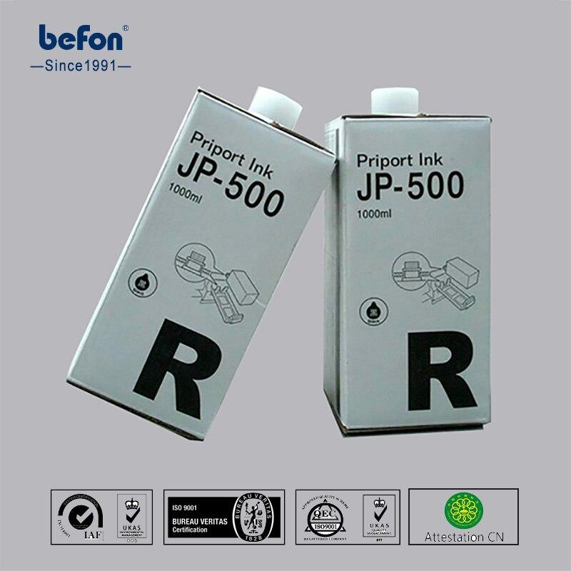 befon Duplicator Ink copyprinter ink JP-500 JP500 JP 500 compatible for Ricoh Duplicator JP-5000 5500 5800 5450 4000 4500 N400<br>