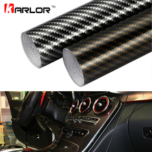 30cmx100cm High Glossy 2D Carbon Fiber Vinyl Wrap Film DIY Auto Car Motorcycle Decorative Wrapping Sticker Car Accessories(China)