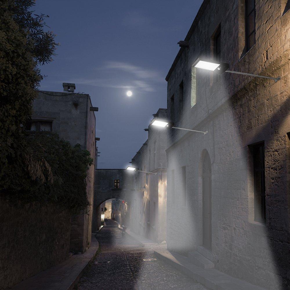 Security Lights 450 Lumen 35 LED Solar Street Light Outdoor Lighting Path Wall Lamp Emergency Led SpotLight For Garden Corridor<br>