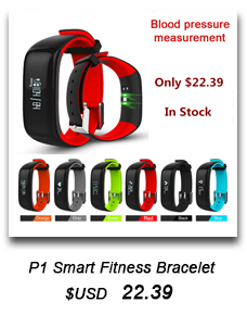 image for Fitness Bracelet Heart Rate Monitor Smart Band Activity Tracker Wristb