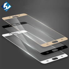 "9H Full Coverage Tempered Glass Protector For Samsung Galaxy A9 Pro A9100 Lhoyern Brand Screen Protective Film For SM-A9100 6.0""(China)"