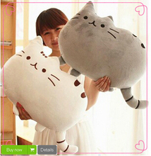 Free Shipping 40*30cm Plush Toys Stuffed Animal Doll Talking Animal toy Pusheen Cat For Girl Kid Kawaii Cute(China)