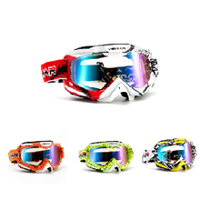 New Goggle Tinted UV Motorcycle Skiing Goggles Motocross Bike Cross Country Flexible Goggles Sport Glasses gafas motocross(China)