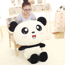 Buy 50cm Kawaii Big Head Panda Plush Toys Stuffed Soft Animal Pillow Cute Cartoon Bear Gift Children Kids Baby Christmas Gift for $13.30 in AliExpress store