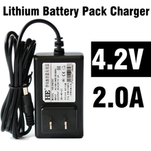 Free shipping 110v DC Battery Charger 4.2v 2A  for Laptop or Electric tool