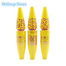 Makeup Volume Express COLOSSAL Mascara With Collagen Cosmetic Extension Long Curling Waterproof Eyelash Black