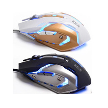 NEW Wired Gaming Mouse Mice Professional USB Optical Computer Mouse 6 Buttons E-Sports Mice Ratones Pc 3200
