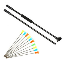Leopard M50 Black Version Blow Gun with Junction Tube and 10pcs arrows blow darts for Outdoor Sports Activities(China)