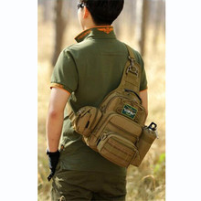 Men's bags tactics chest backpack pack female travel inclined shoulder multi-function group high grade leisure bag Best selling