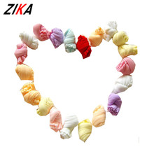 ZIKA 20 Pair/ Lot Newborn Baby Socks Candy Color Children Kids Socks Anti Slip Boys Girls Clothing Accessories Mixed Random
