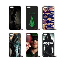 For Huawei Ascend P6 P7 P8 P9 P10 Lite Plus 2017 Honor 5C 6 4X 5X Mate 8 7 9 Navy Blue League Green Arrow Oliver Queen Case(China)