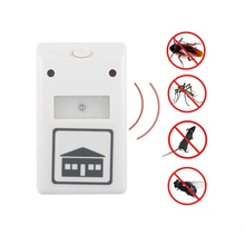 Ultrasonic Mouse insect Roach Ant Spider Flea Repellent Mosquito Cockroach Repeller Rodent Pest Bug Electronic 2016 New EU Plug