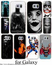Batman movies the joker jack Hard Transparent Case Cover for Samsung Galaxy S3 S4 S5 Mini S6 S7 S8 Edge Plus Case