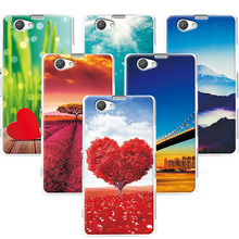 "Buy Scenery Phone Cases Sony Z1 Mini 4.3""Case Funda Sony Xperia Z1 Compact Z1 Mini D5503 M51W Back Cover Sony Z1 Compact for $1.39 in AliExpress store"