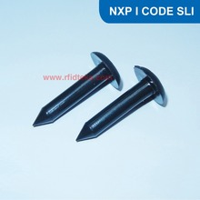 RFID Nail Tag with I CODE 2 Chip, RFID tag for Tree Identification, Asset Tracking with ISO 15693 I CODE SLI Chip