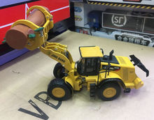 1/50 DieCast Model Construction Vehicles 982M Wheel Loader With Log Grapple(China)