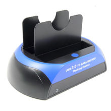 "USB3.0 to SATA IDE HDD Docking Station Super Speed USB 3.0 For 2.5""/3.5"" Hard Drive HDD SSD(China)"